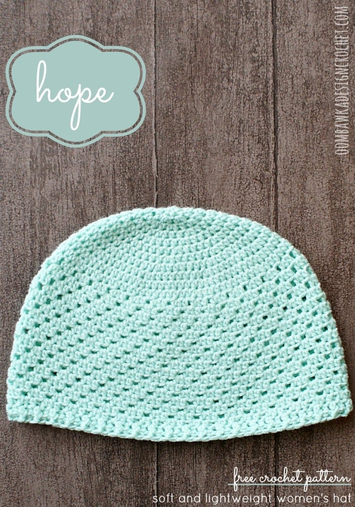 Chemo Patterns Crochet Cap