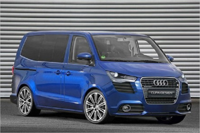 AUDI MULTIVAN T5 Rendering by CUPA DESIGN