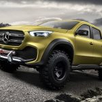 Concept MERCEDES-BENZ X-CLASS pick-up
