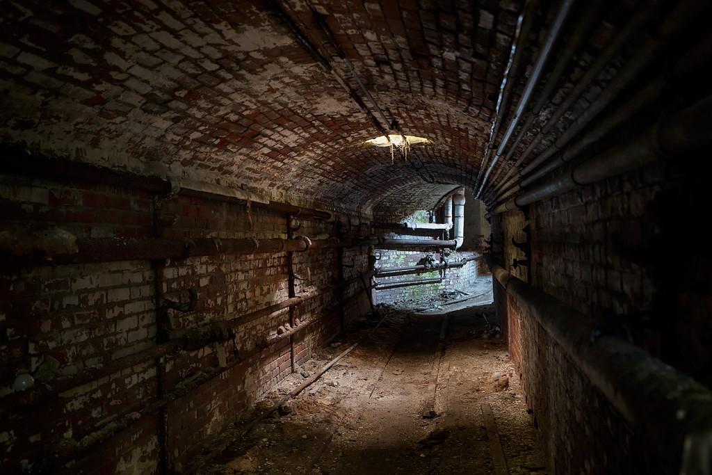 Winding Photo Of The Abandoned Taunton State Hospital