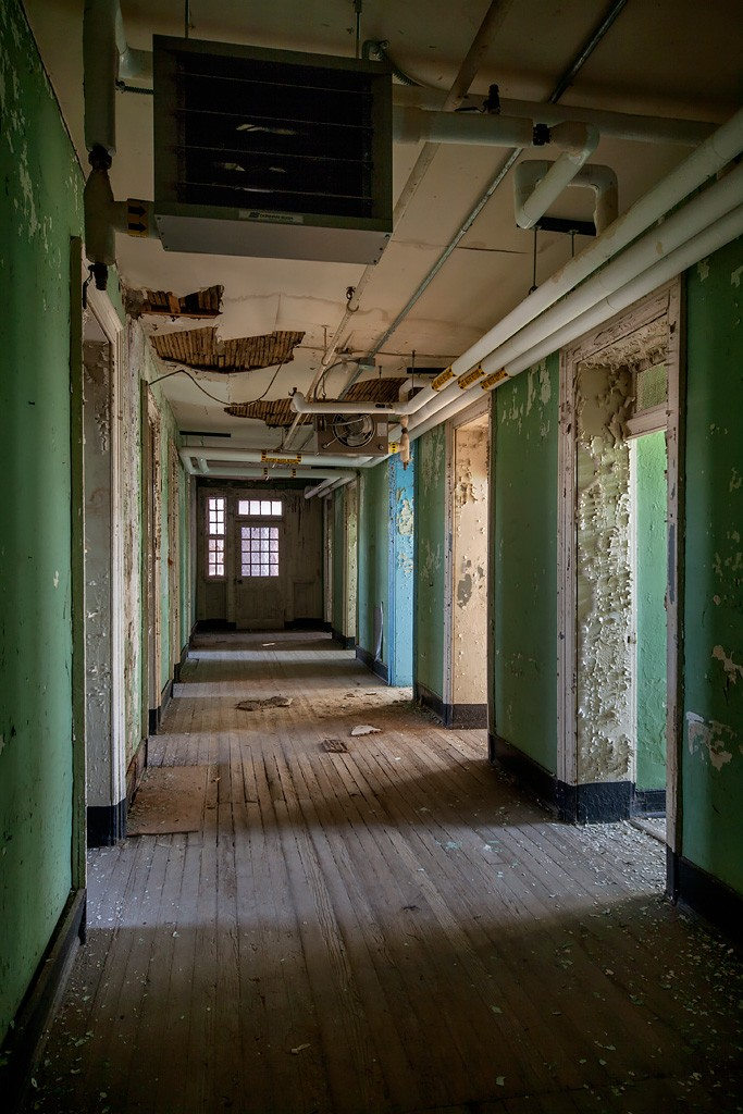 Multicolor Photo Of The Abandoned Western State Hospital