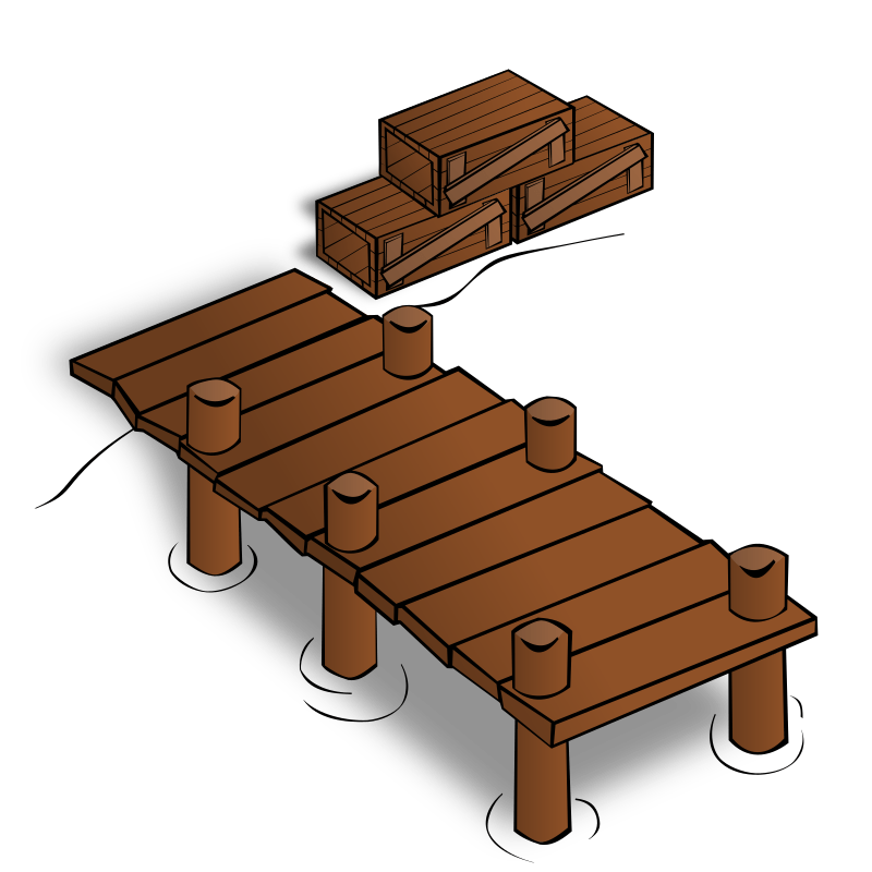 Small Wooden Buildings