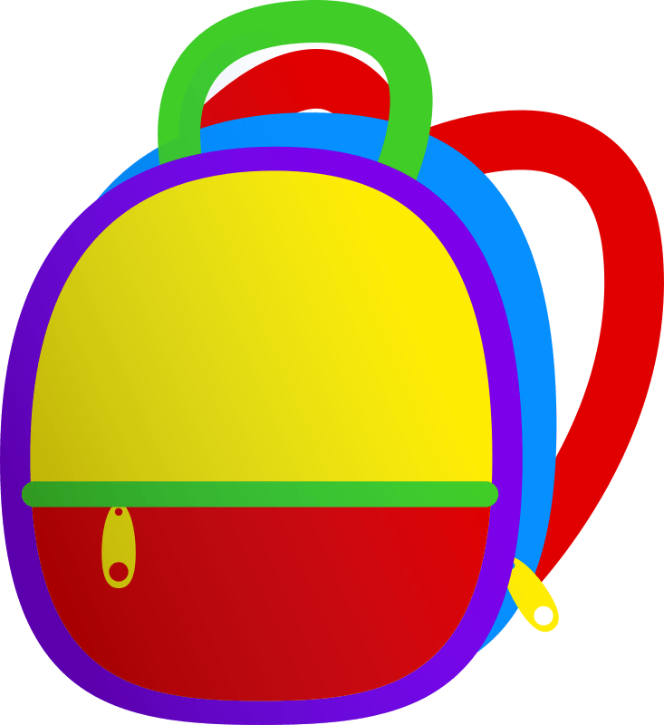 Clipart - Kids Backpack