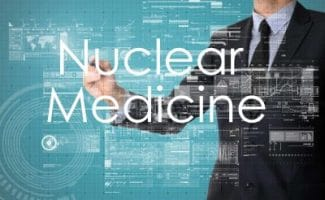 nuclear medicine technologist uses radiopharmaceutical