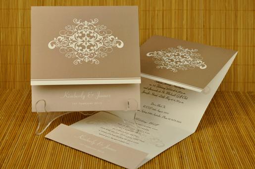 Harare Invitation Wedding Cards