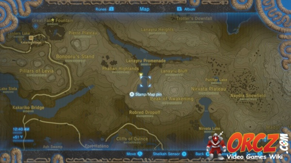 Map Zelda Zora Wild Breath
