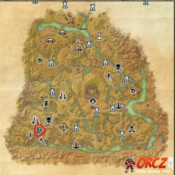 Map Elder Scrolls Games
