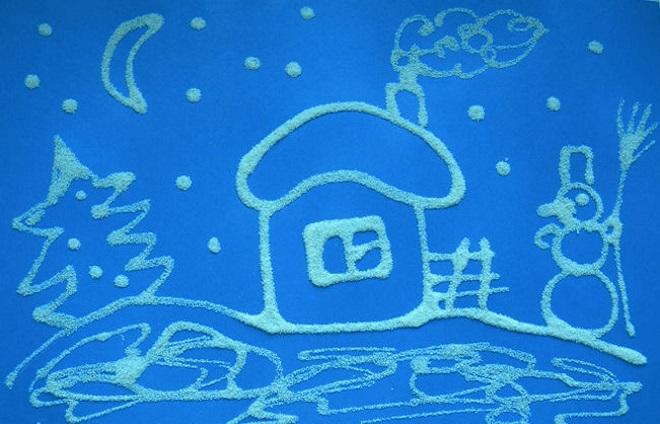 Casa Santa Claus apliques
