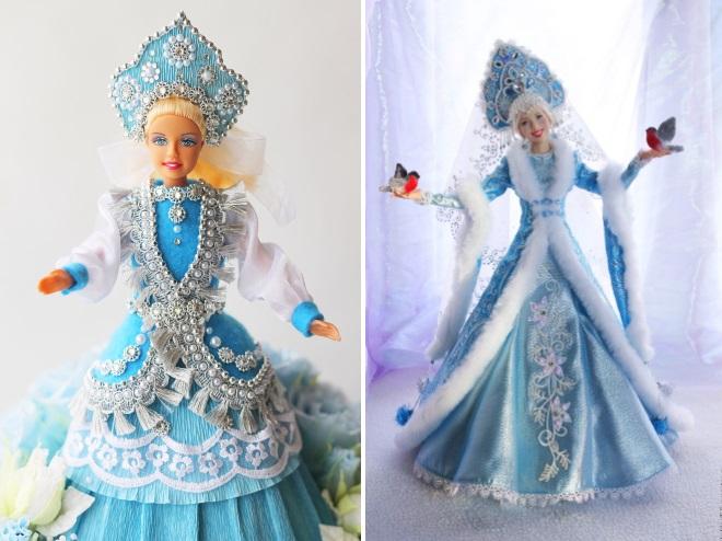 Barbie panenka ve sněhové dívce