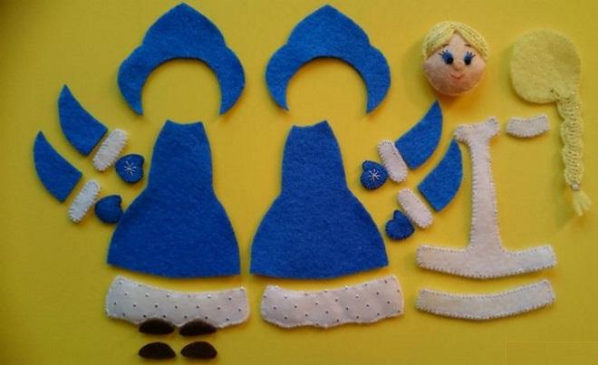 Vzor hračky z tkaniny
