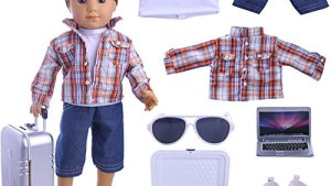 Boy Doll Clothes Lot 7=1 Daily Travel Notebook Clothes