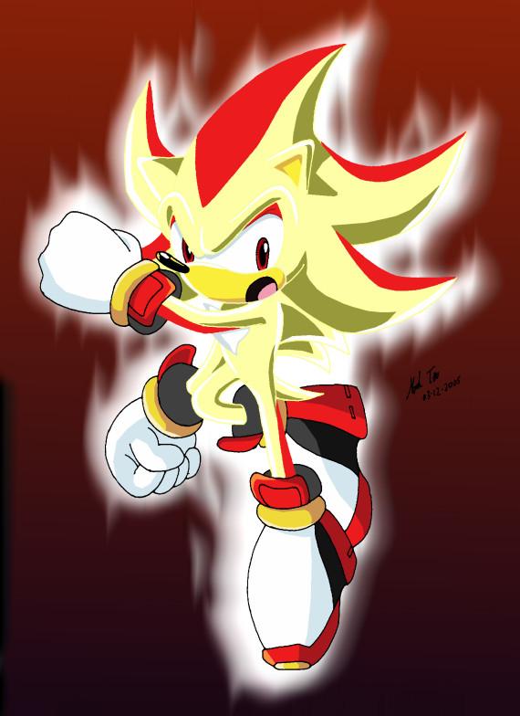 Super Hyper Sonic Hedgehog