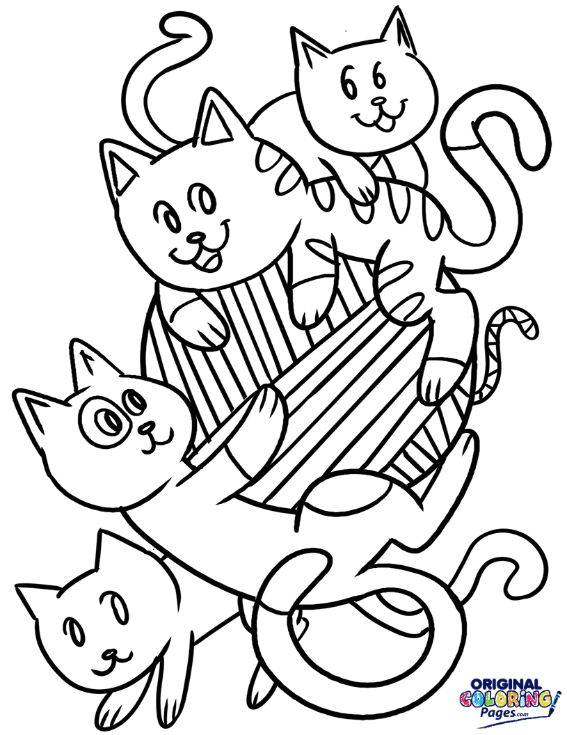 Cats Coloring Pages Original Coloring Pages