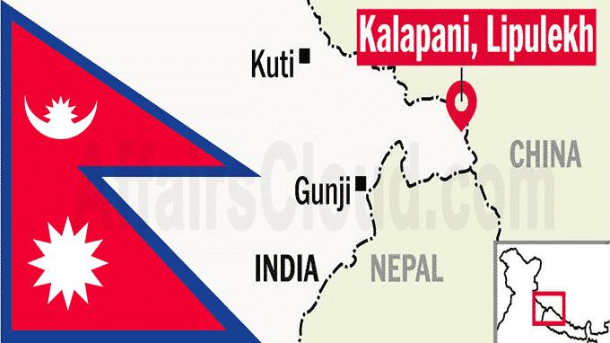 ভারতের সঙ্গে নতুন সীমান্তরেখা নেপালের