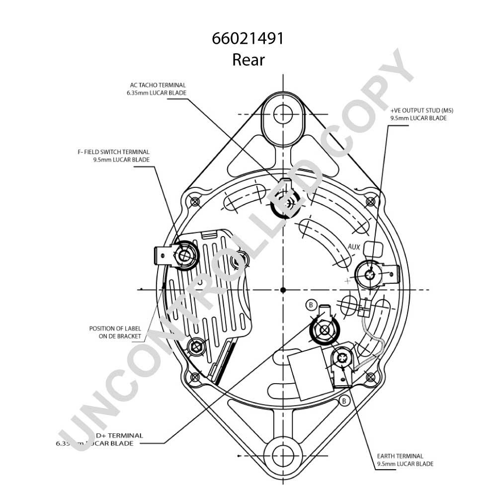 66021491 · alternator pl oe prestolite 66021491 24v 55a 66021491