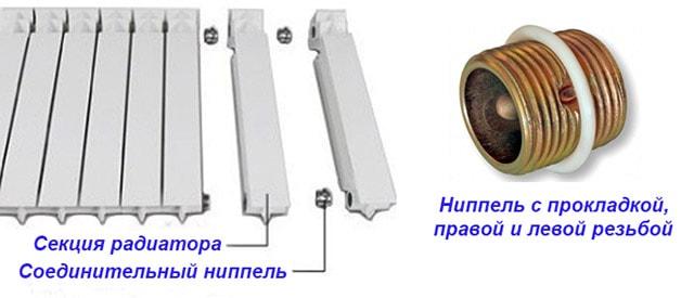 Como desmontar as seções da bateria