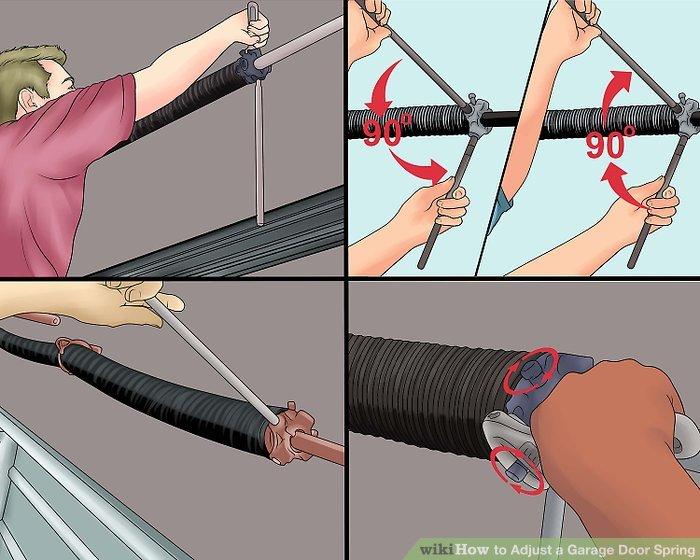 Adjusting Garage Door Cables