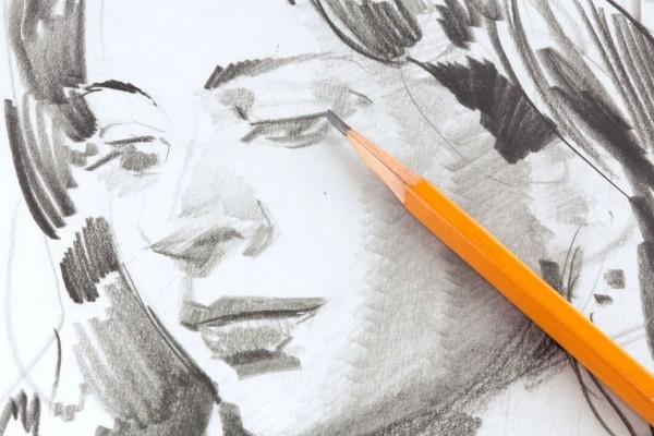 Kuinka piirtää henkilö vaiheittaisessa lyijykynällä