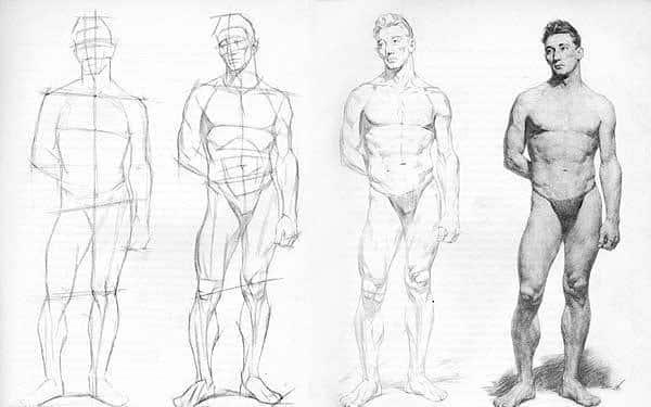 Kuinka oppia piirtämään henkilö tyhjästä