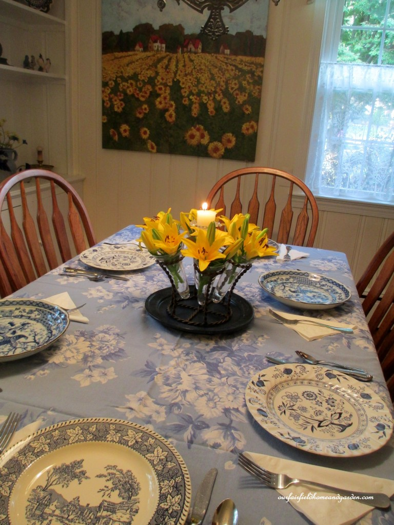 Restaging Our Country French Dining Room Our Fairfield