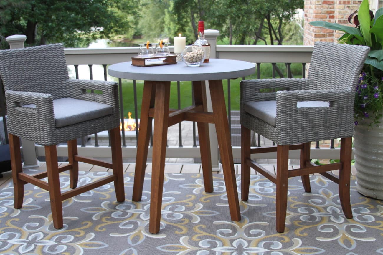 Table Umbrella Outdoor And Chairs