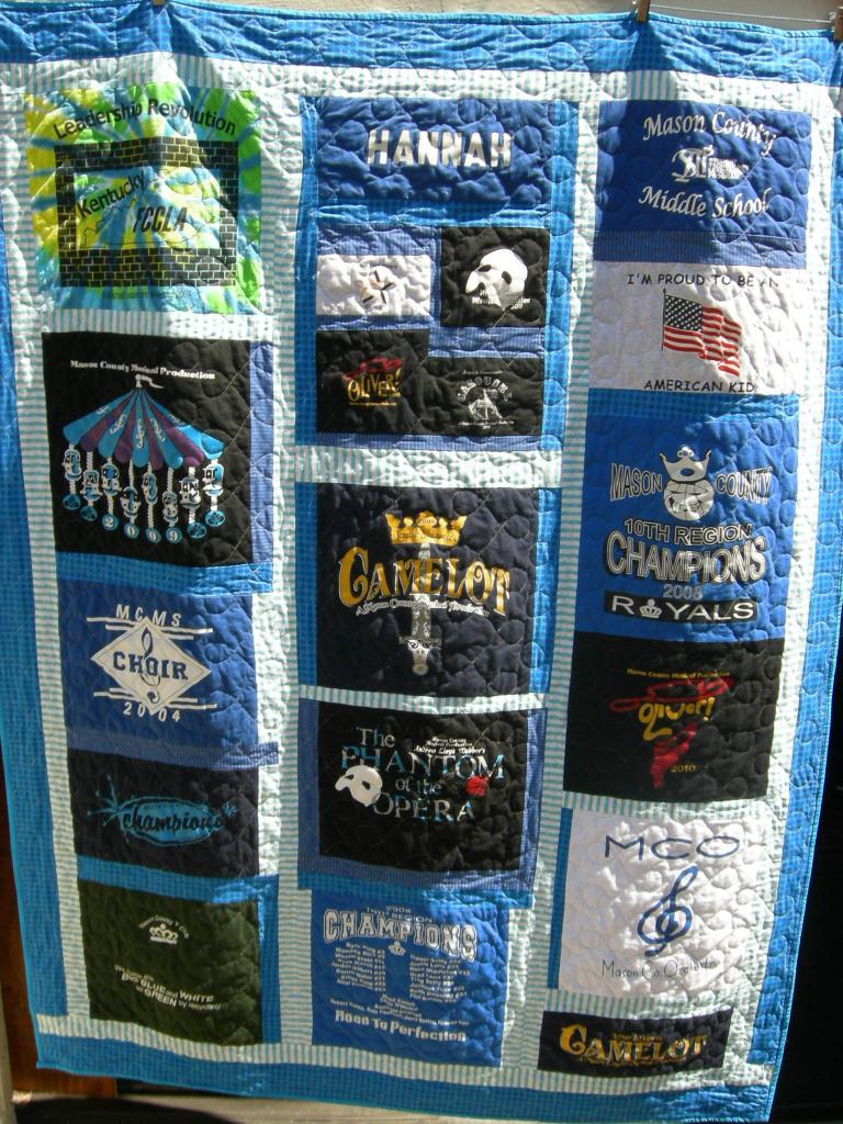 T Shirt Quilt Binding