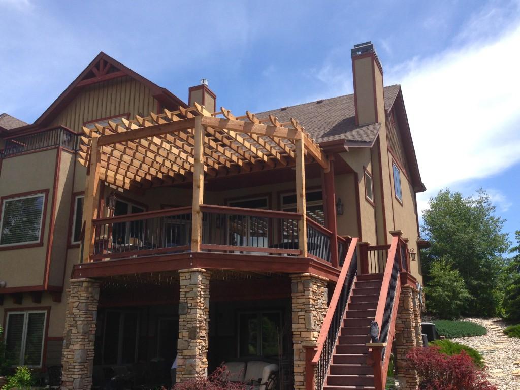 Centered Beam Pergolas Fort Collins Amp Windsor Co