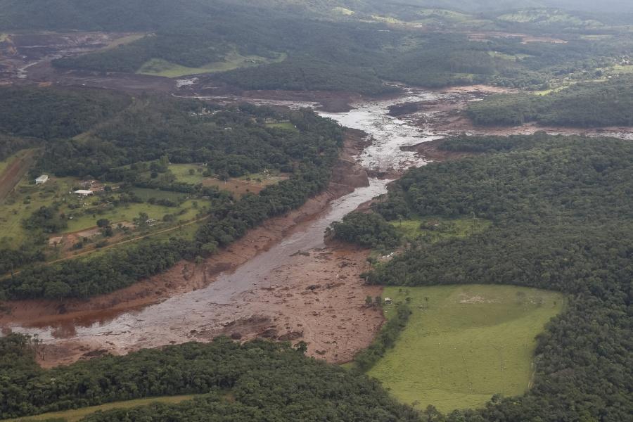 Rompimento da barragem da Vale em Brumadinho