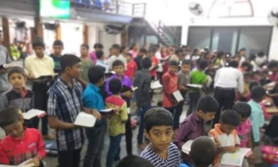Crianças na Escola Dominical no Sri Lanka