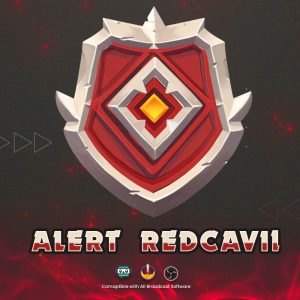 animated alert,preview1,redcavil,overlaytemplate.com