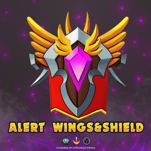 animated alert,preview1,wing&shield,overlaytemplate.com