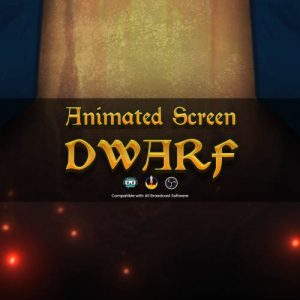 animated screen,preview1,dwarf,overlaytemplate.com
