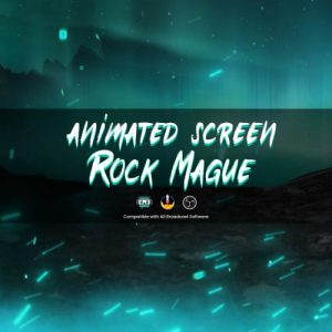 animated screen,preview1,rockmague,overlaytemplate.com