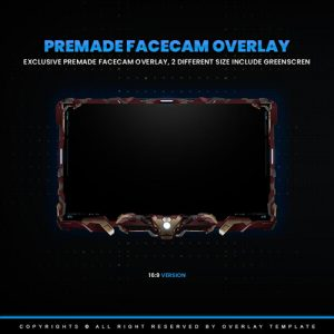 facecam,preview1,ironman,overlaytemplate.com