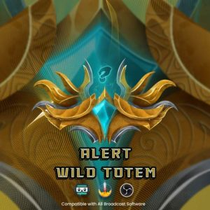 animated alert,preview,wildtotem,overlaytemplate.com