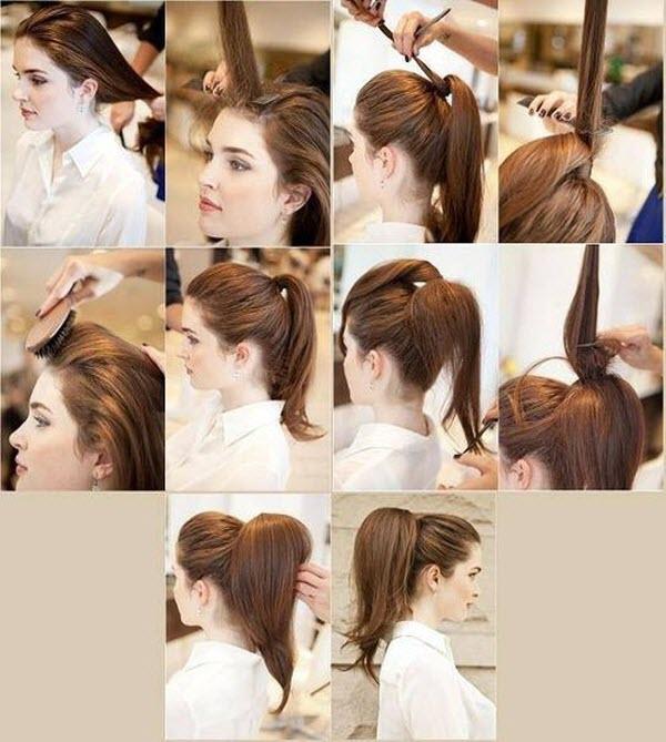 Cách thực hiện lớp Master Tail Hairstyle với hình ảnh từng bước