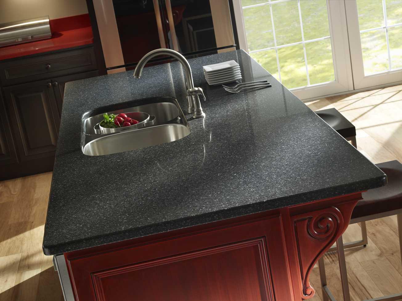 Grey Quartz Countertops Kitchen