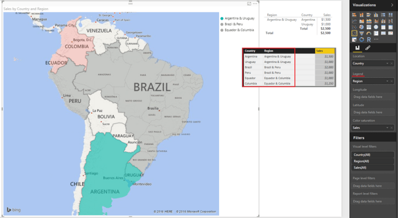 Solved  Combine countries for mapping   Microsoft Power BI Community Map png