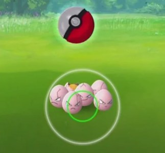 How to Throw a Poke Ball   Pokemon GO Wiki Guide   IGN Your throw will arc toward the Pokemon  so try to gauge your force and  angle so the ball falls in the sweet spot in the center