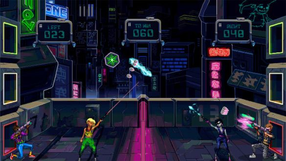 Gunsport is a Retro Cyberpunk Volleyball Game   IGN Based on the screenshots the developer has shown  no trailer as of  yet  Gunsport evokes a retro sci fi vibe  but Sheffield says the game will  include
