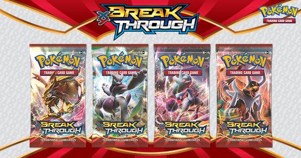 Mega Pokemon Cards Ex Packs