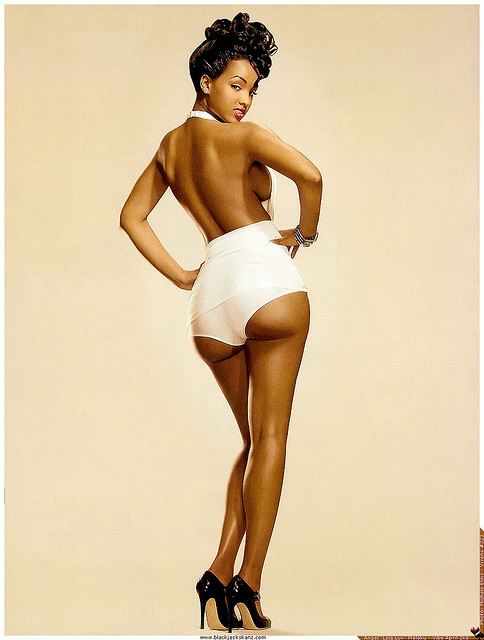 black-pin-up-model-dan-burley | Oyunga Pala