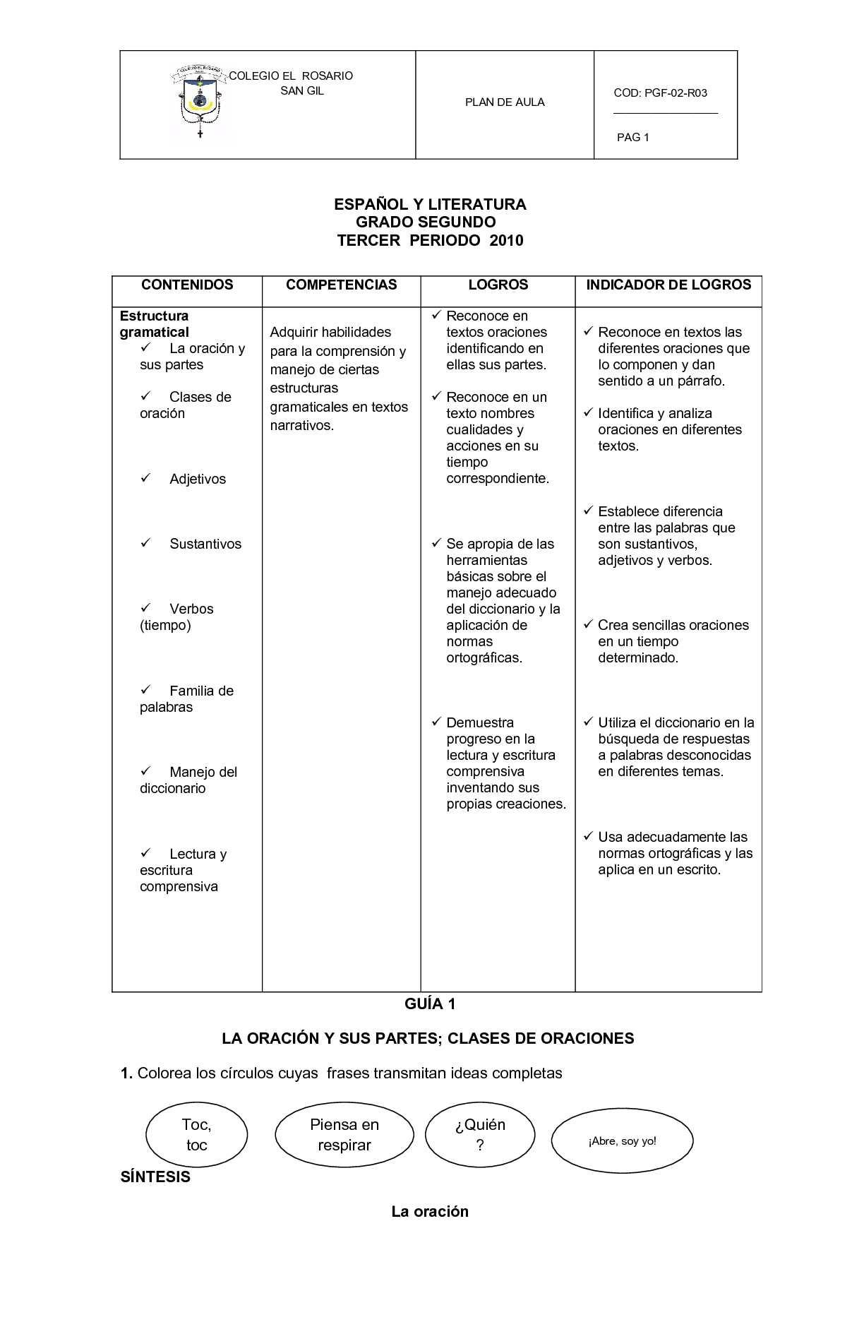 Sustantivos Comunes Y Propios Actividades