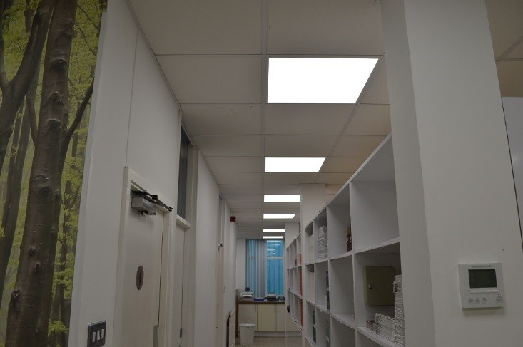 Replacing Fluorescent Lights Led