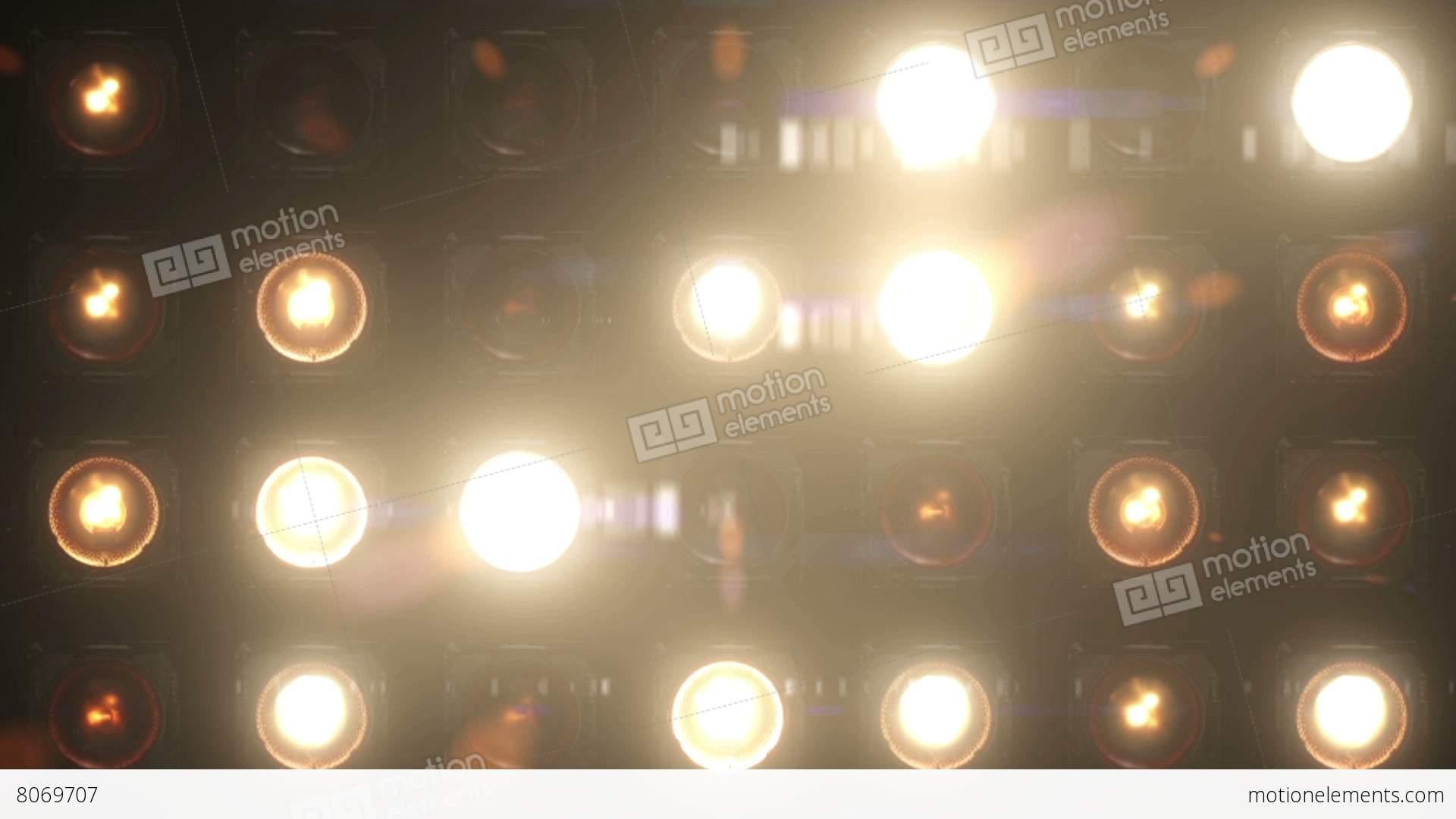 Flashing Light Bulb Animation