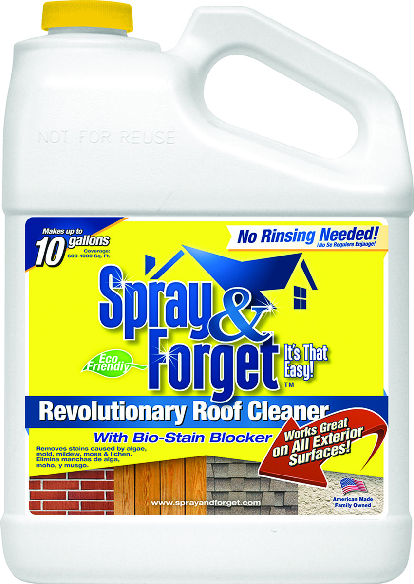 Outdoor Rinse Cleaner No Mold