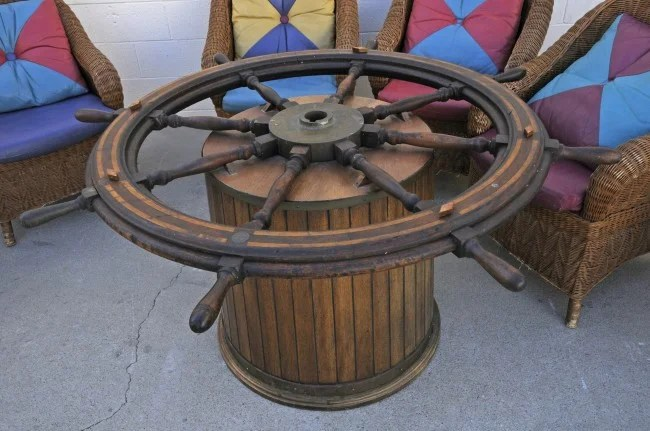 Large Outdoor Iron Table Base