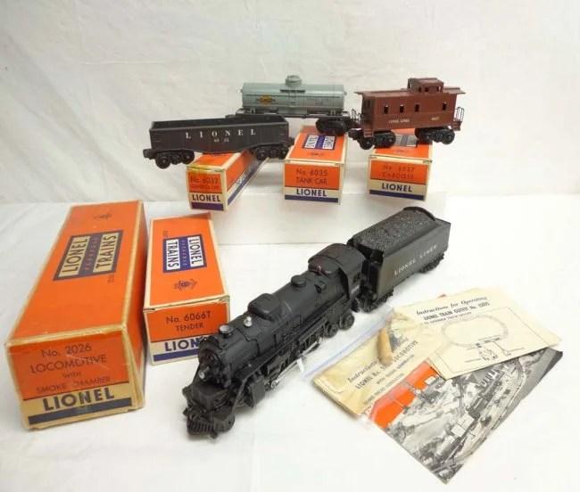 1953 2026 Lionel Set Train