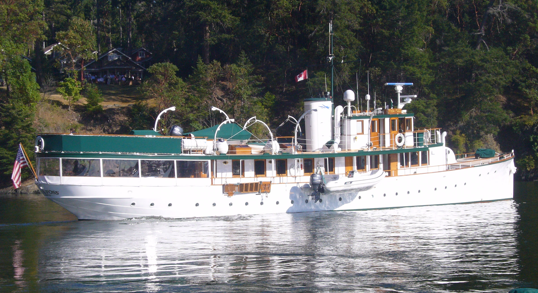 Thea Foss Pacific Motor Boat Design