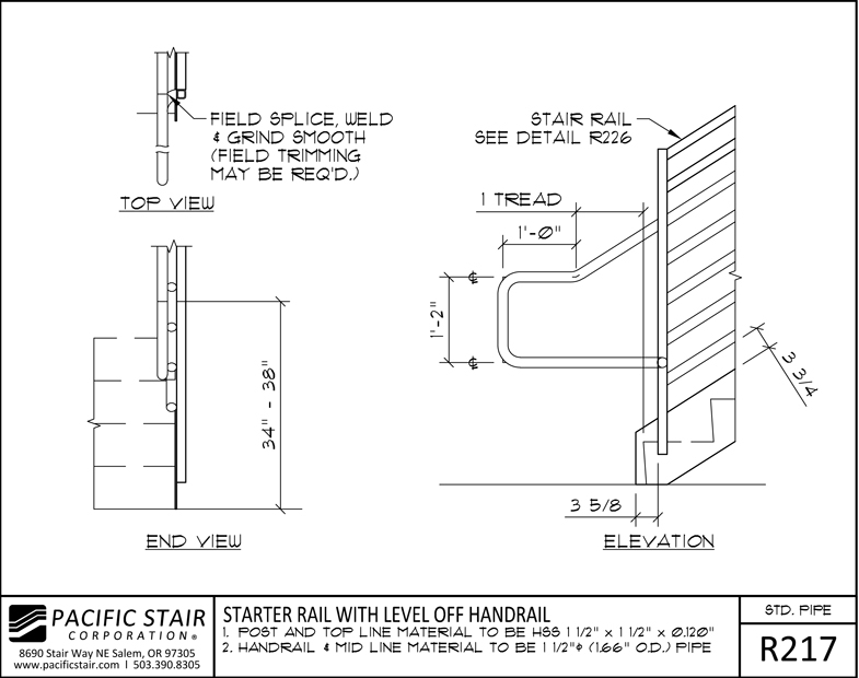 Pipe Rail Pacific Stair Corporation | Pacific Stairs And Railings | Architecture | Wire Mesh | Cad | Casey Brown | Modern Staircase